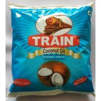 Pure Coconut Oil -  Pouch – 500 ML