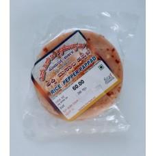 Rice Pepper Papad (S.S.V)  200 GMS
