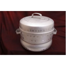Thondur ತೊಂದೂರ್  - Idli Cooker Aluminium - 18 Cups Capacity (Without Cups)