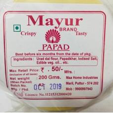 Mayur Plain Papad 200 gms