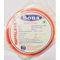 Sona Happalams khara - 200 gm