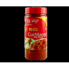 Aduge Krishna Bhat - Cut Mango Pickle - 350 GMS