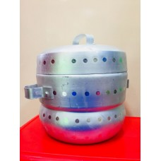 Thondur ತೊಂದೂರ್ (Idli Cooker Aluminium) - 15 Cups Capacity (Without Cups)