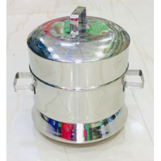 Thondur |ತೊಂದೂರ್ |Idli Cooker - Stainless Steel - 18 Cups Capacity (Without Cups)