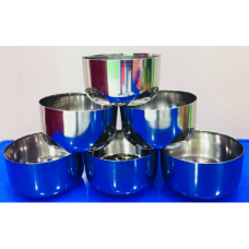 Idly Cups - Steel - Set of 10 Cups