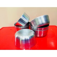 Idly Cups Aluminium - Pack of 10