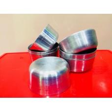 Idly Cups Aluminium - Pack of 10