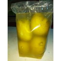 Preserved Mango in salty water. ನೀರು ಮಾವಿನ ಹಣ್ಣು
