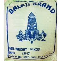 Boiled Rice - Balaji Brand - 10 KGS - ಕುಚಲಕ್ಕಿ