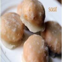 Saat ಸಾಟ್ -Saat - A Flaky Mangalorean Sweet
